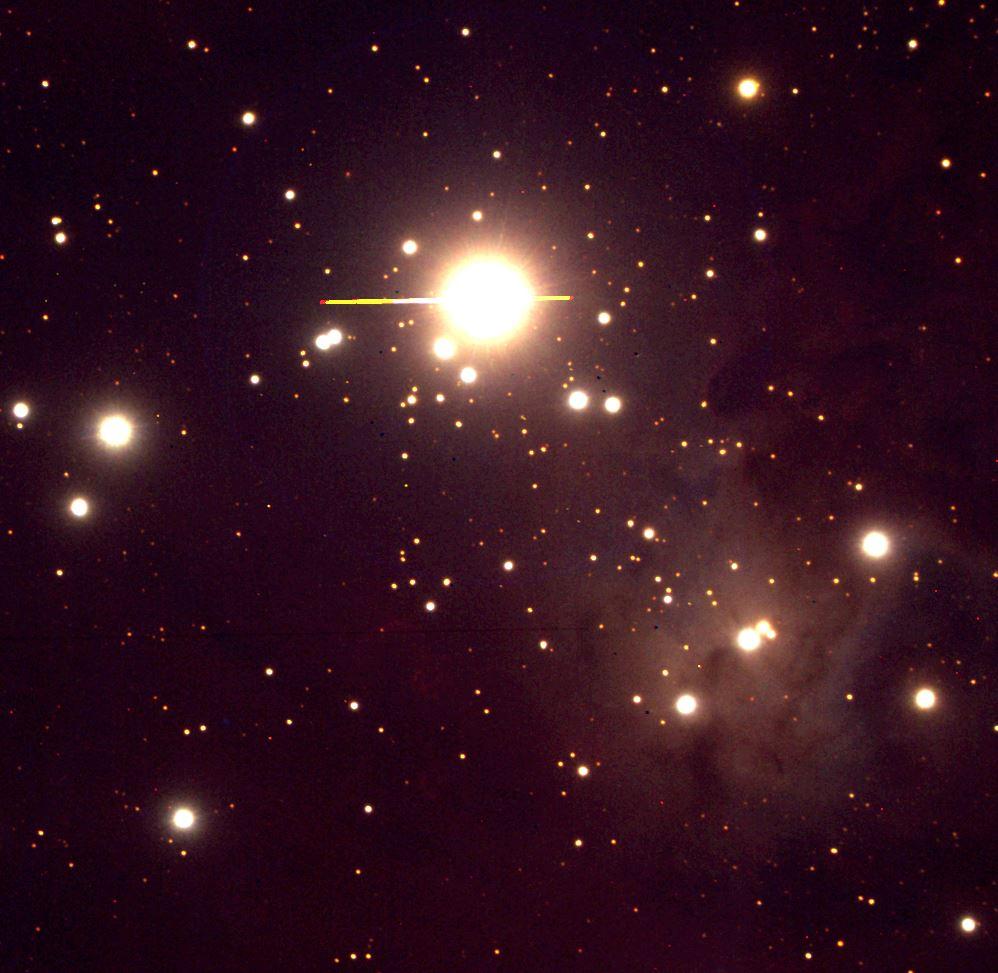 NGC2264 LCO BVR Image